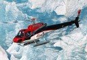 Photo of HELICOPTER IN FRONT OF GLACIER